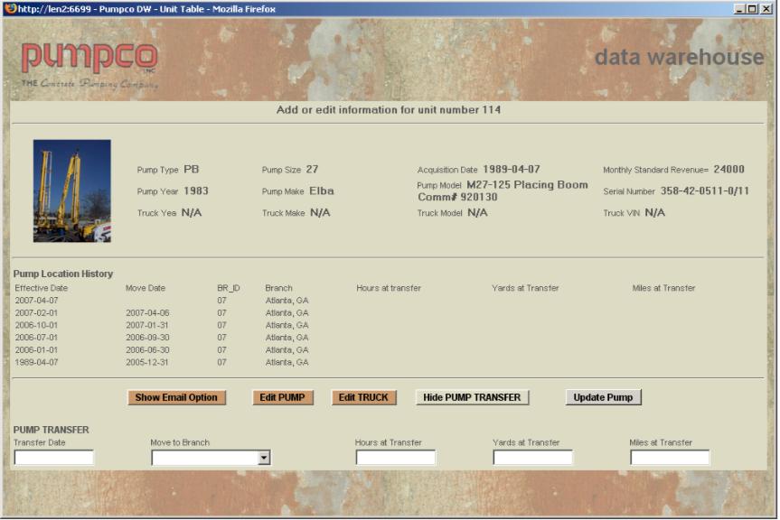 Pumpco Screenshot – Pump Data entry example screenshot.png