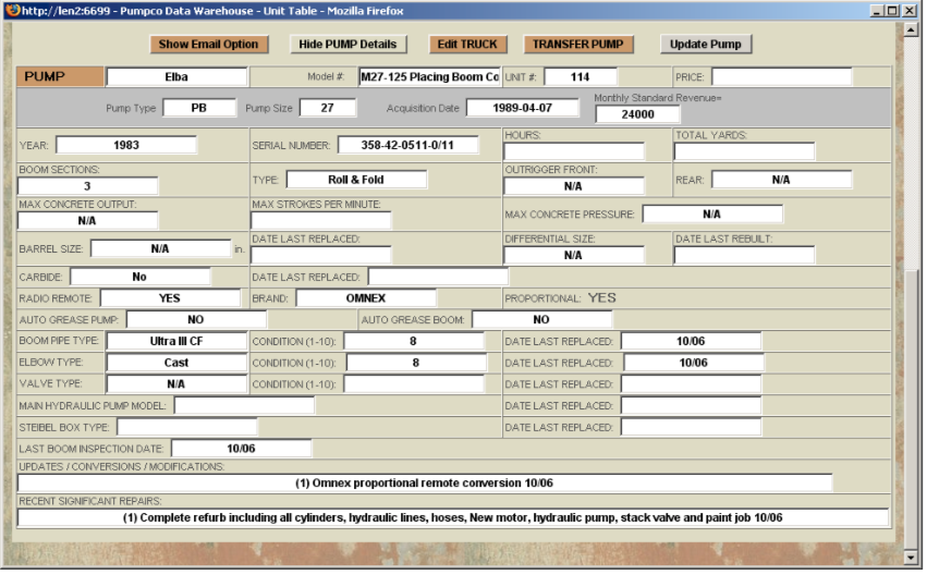 Pumpco Screenshot - PUMPCO detailed data entry screen.png